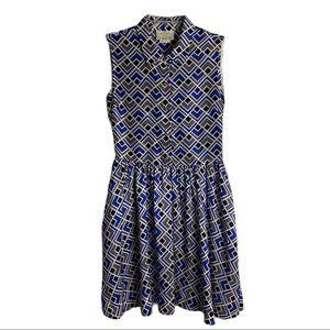 KATE SPADE 100% Silk Print Dress